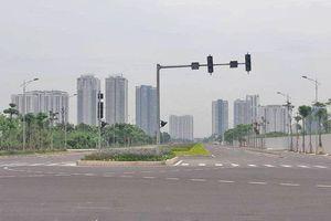 Cận cảnh tuyến đường nối 3 quận của Thủ đô vừa thông xe