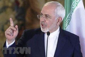 Ngoại trưởng Iran kêu gọi thận trọng khi căng thẳng gia tăng