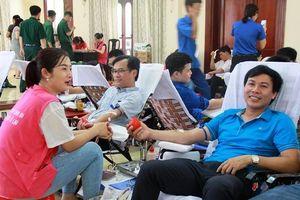 Thanh Hóa: Hơn 3.500 người đăng ký hiến máu tình nguyện