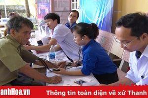 Hội LHTN huyện Tĩnh Gia tổ chức chương trình tình nguyện vì cuộc sống cộng đồng, tri ân các gia đình có công với cách mạng