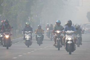 Cháy rừng gây khói mù dày đặc bao phủ Indonesia