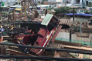 Nguyên nhân ban đầu vụ cần cẩu sập vào nhà dân ở TP HCM