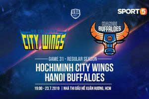 Làm khách của Hochiminh City Wings, cơ hội nào cho Hanoi Buffaloes đang khủng hoảng