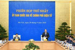 Hôm nay, Ủy ban Quốc gia về Chính phủ điện tử họp phiên thứ hai