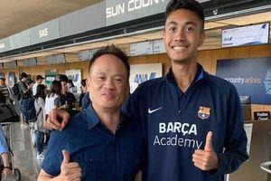 Cầu thủ Việt kiều học Barcelona về HAGL thử việc