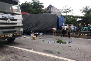 Tai nạn kinh hoàng sáng 23/7, nhiều người thương vong tại Hải Dương