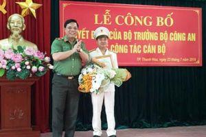 TP. Thanh Hóa: Có tân Trưởng công an