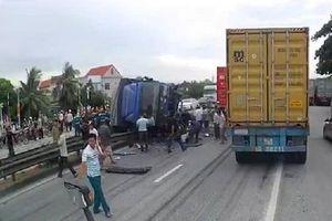 Hải Dương: Xe tải đâm vào đoàn người tập trung ở hiện trường tai nạn, ít nhất 5 người tử vong