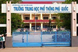Trường Trung học phổ thông Phú Quốc không cần lời xin lỗi của phụ huynh xúc phạm