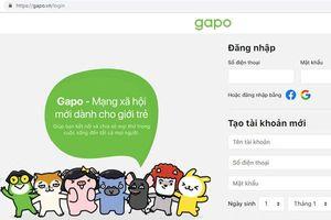 MXH Gapo tạm ngừng hoạt động để sửa lỗi ngay trong ngày ra mắt