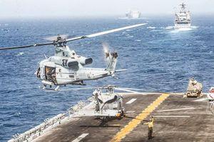 Mỹ tuyên bố thành lập liên minh tuần tra eo biển Hormuz