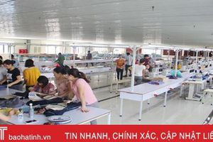 'Mục sở thị' xưởng may xuất khẩu trị giá 23 tỷ đồng ở Hà Tĩnh