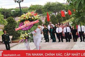Lãnh đạo tỉnh Hà Tĩnh dâng hương tại các địa chỉ đỏ