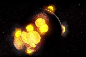 Video ấn tượng về quá trình 'chào đời' dữ dội của Mặt Trăng