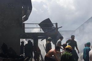 Hỏa hoạn khiến 5 hộ nghèo ở An Giang mất nhà