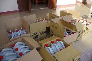 Đà Nẵng: Thu giữ gần 2.000 lít dầu nhớt giả