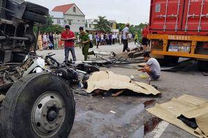 Tai nạn liên tiếp trên QL5, một xã đại tang 5 người