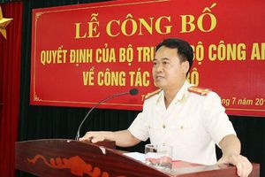 Thành phố Thanh Hóa có Trưởng Công an mới