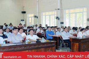 Cập nhật kiến thức cho 71 cán bộ diện BTV Tỉnh ủy Hà Tĩnh quản lý
