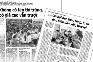 Bắc Giang: Điều tra nhóm xã hội đen, công ty đấu giá đất vào 'tầm ngắm'