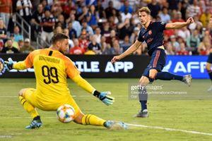 Sao trẻ chấn thương kinh hoàng, AC Milan thua muối mặt Bayern Munich