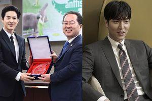 Lee Min Ho trông cực sang-xịn-mịn - Suho (EXO) có được vinh dự mới
