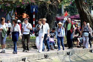 Hà Nội thu hút hơn 16,7 triệu lượt khách tăng 9,2% so với cùng kỳ