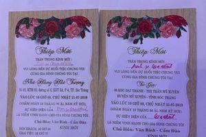 Đám cưới đừng nên thực dụng và rình rang!