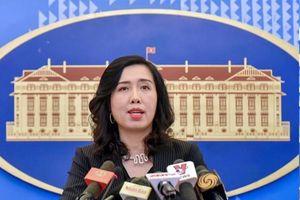 BNG thông tin thêm về tàu Hải Dương 8 vi phạm vùng biển của Việt Nam