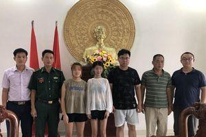 Bàn giao hai bé gái bị đưa xuất cảnh trái phép cho Lãnh sự quán Trung Quốc