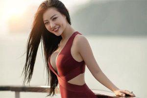 Thanh Hương: 'Chồng ủng hộ những bộ ảnh gợi cảm của tôi'