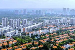 Tiền Hà Nội giội nhà đất Sài Gòn