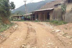 Lào Cai: Tỉnh lộ 160 xuống cấp nghiêm trọng, mất ATGT