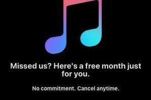 Apple rút ngắt thời gian dùng thử ứng dụng Music xuống còn 1 tháng