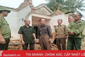Cựu binh Hà Tĩnh 'phá' nhà cho thôn làm đường!