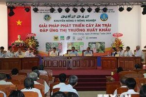 Giải pháp phát triển sản phẩm trái cây đáp ứng thị trường xuất khẩu