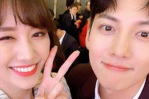 Hari Won khiến nhiều người ghen tỵ khi sánh đôi cạnh tài tử Ji Chang Wook