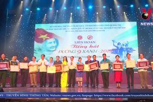 Bế mạc Liên hoan 'Tiếng hát Đường 9 xanh - năm 2019'