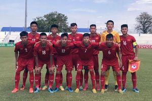 U15 Việt Nam thua Indonesia ở trận ra quân giải Đông Nam Á