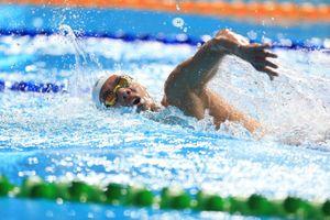 Kình ngư Huy Hoàng hụt vé Olympic 2020