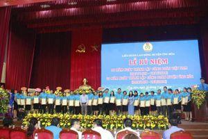 LĐLĐ huyện Ứng Hòa: Tổ chức Lễ kỷ niệm 90 năm ngày thành lập Công đoàn Việt Nam