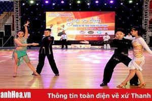 Gần 500 VĐV tranh tài tại Giải vô địch khiêu vũ thể thao Thanh Hóa mở rộng lần thứ IX – năm 2019