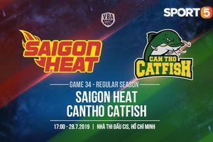 Đụng độ khắc tinh Cantho Catfish, Saigon Heat có thể giải hạn?