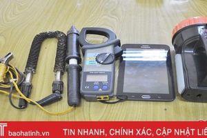 Hà Tĩnh xử lý 70 vụ 'ăn cắp' điện, truy thu gần 400 triệu đồng