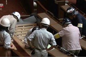Nhật cải tạo nhà Quốc hội để phục vụ nghị sĩ di chuyển bằng xe lăn