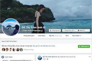 Động thái 'lạ' của hot girl Trâm Anh trên Facebook sau scandal clip nóng
