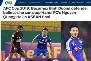 Báo chí châu Á 'nóng' trước trận chung kết AFC Cup... toàn Việt Nam