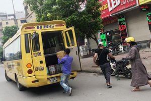 Tràn lan xe khách không phép tuyến Quảng Ninh - Hà Nội