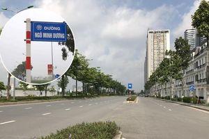 Rà soát, xử lý việc tự ý gắn biển tên đường, phố trên địa bàn Hà Nội