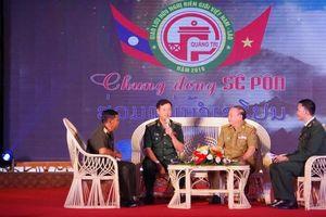 Thắm tình hữu nghị Việt - Lào 'Chung dòng Sê Pôn'